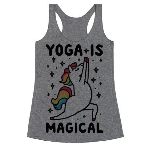 Yoga Is Magical Racerback Tank Top