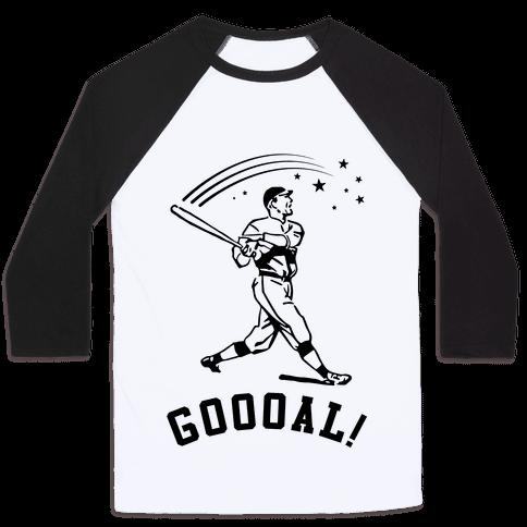 Goal Baseball Tee