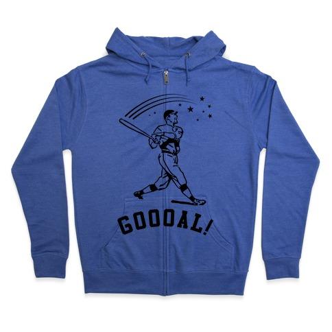 Goal Zip Hoodie