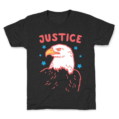 Liberty & Justice 2 (White) Kids T-Shirt