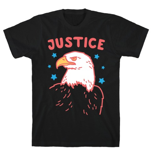 Liberty & Justice 2 (White) T-Shirt