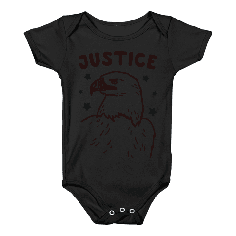 Liberty & Justice 2 (White) Baby Onesy