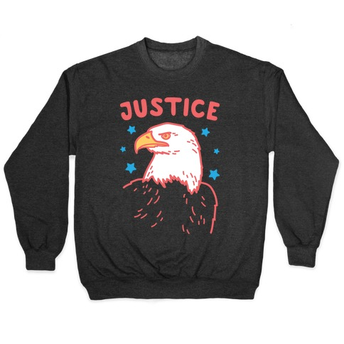 Liberty & Justice 2 (White) Pullover