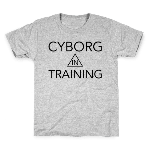 Cyborg In Training Kids T-Shirt