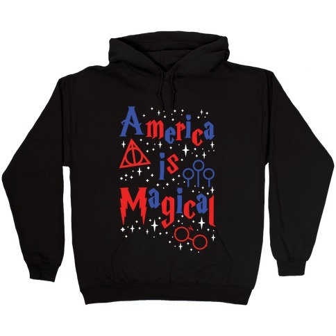 America Is Magical Hooded Sweatshirt