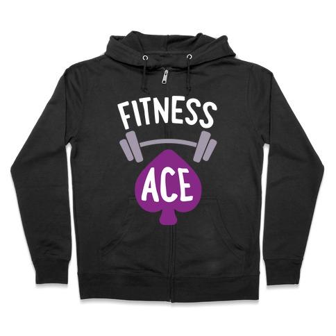 Fitness Ace Zip Hoodie