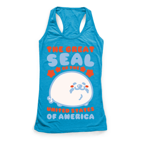 The Great Seal of The United States of America Racerback Tank Top