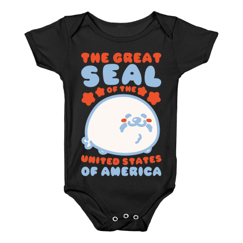 The Great Seal of The United States of America Baby Onesy