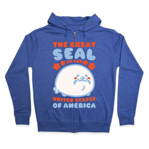 The Great Seal of The United States of America Zip Hoodie