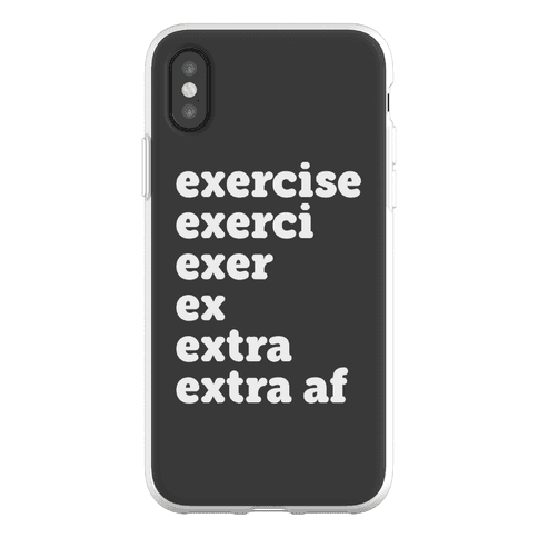Exercise Extra AF Phone Flexi-Case