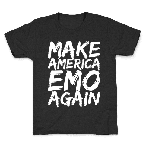 Make America Emo Again Kids T-Shirt