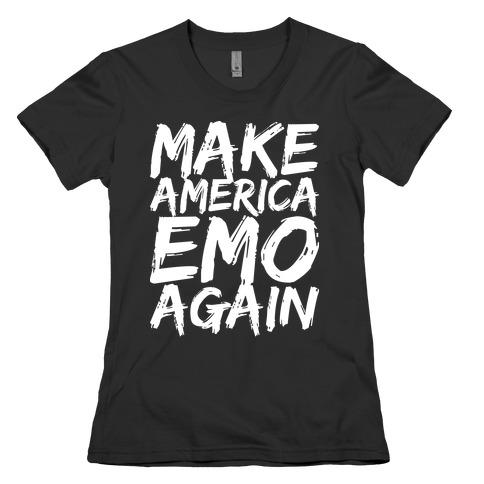 Make America Emo Again Womens T-Shirt