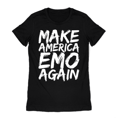 Make America Emo Again Womens T-Shirt