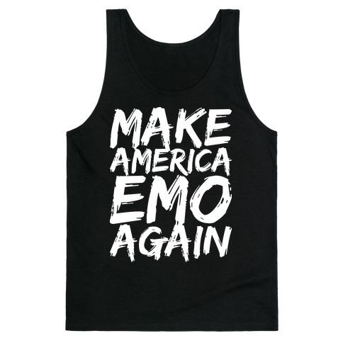 Make America Emo Again Tank Top