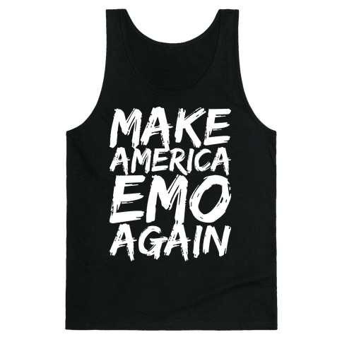 Make America Emo Again Tank Top