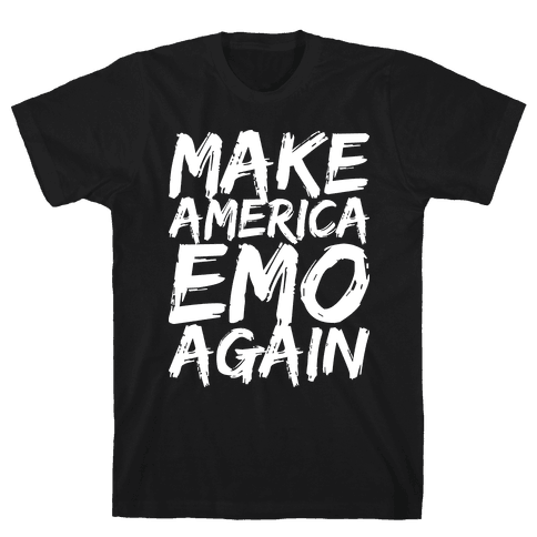 Make America Emo Again Mens/Unisex T-Shirt