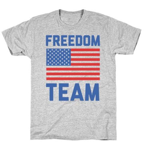 Freedom Team (cmyk) T-Shirt