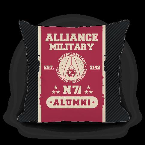 Alliance Military Alumni Pillow