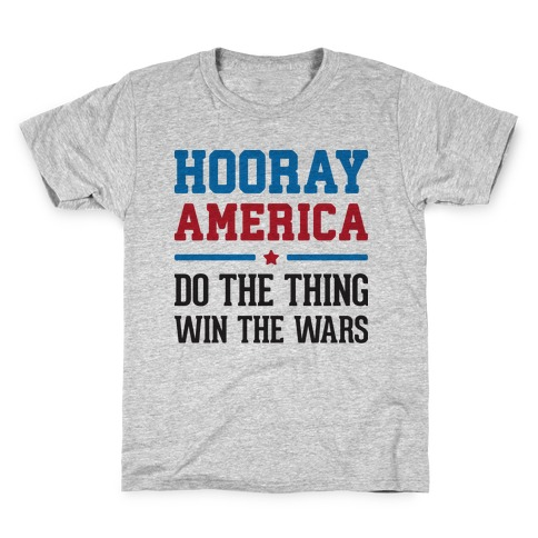 Hooray America Kids T-Shirt