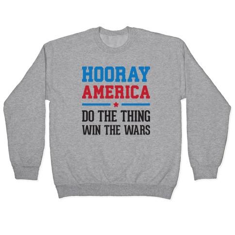 Hooray America Pullover
