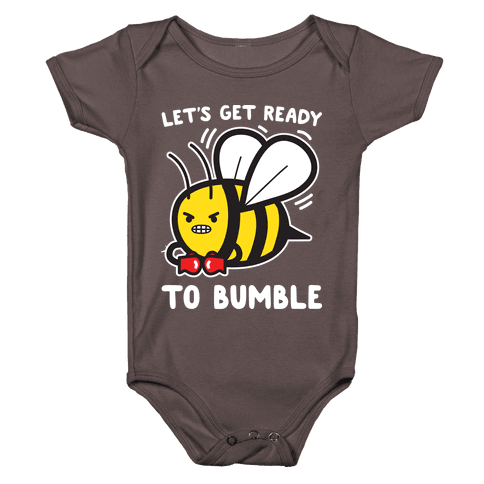 Let's Get Ready To Bumble Baby One-Piece