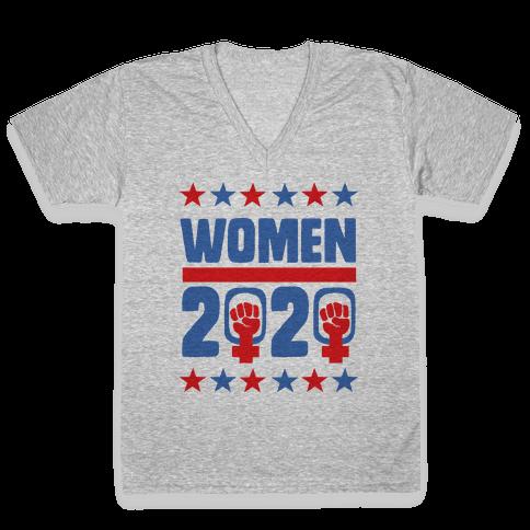 Women 2020  V-Neck Tee Shirt