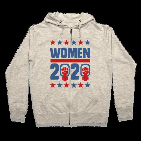 Women 2020  Zip Hoodie