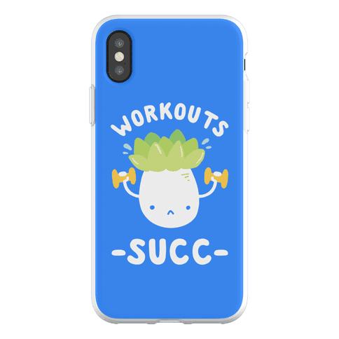 Workouts Succ Phone Flexi-Case