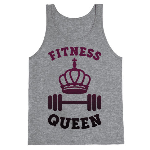Fitness Queen  Tank Top