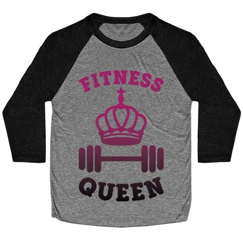 Fitness Queen Baseball Tee