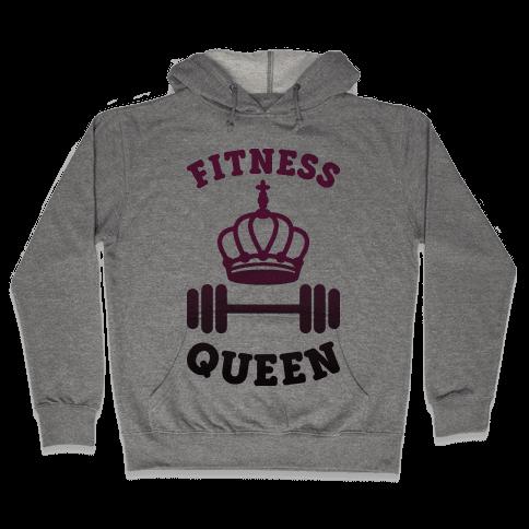 Fitness Queen  Hooded Sweatshirt