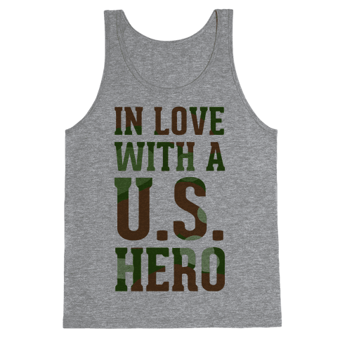 In Love With a U.S. Hero Tank Top