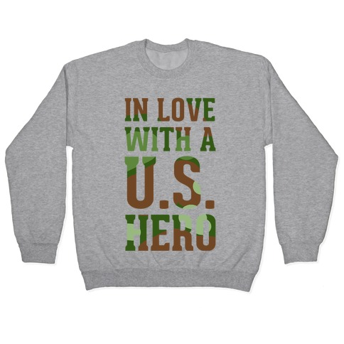 In Love With a U.S. Hero Pullover