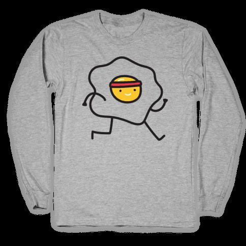Runny Egg Long Sleeve T-Shirt