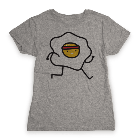 Runny Egg Womens T-Shirt