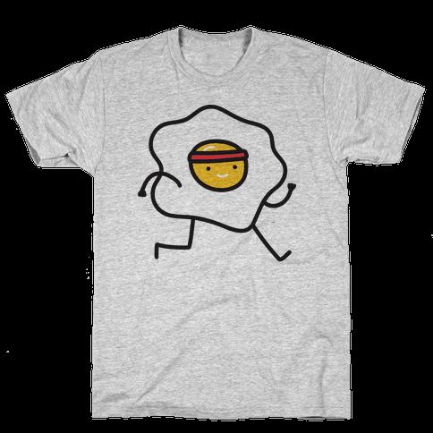 Runny Egg Mens T-Shirt