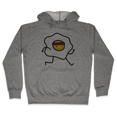 Runny Egg Hooded Sweatshirt