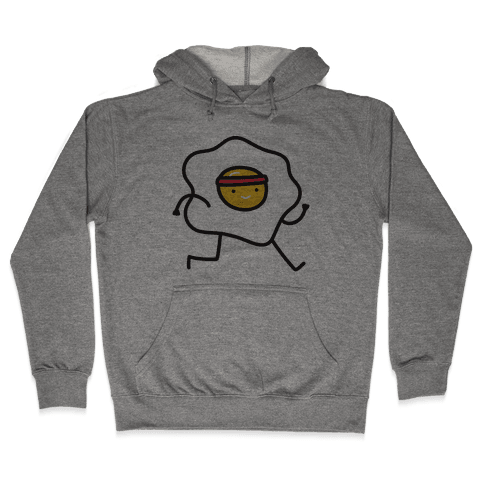 Runny Egg Hooded Sweatshirt