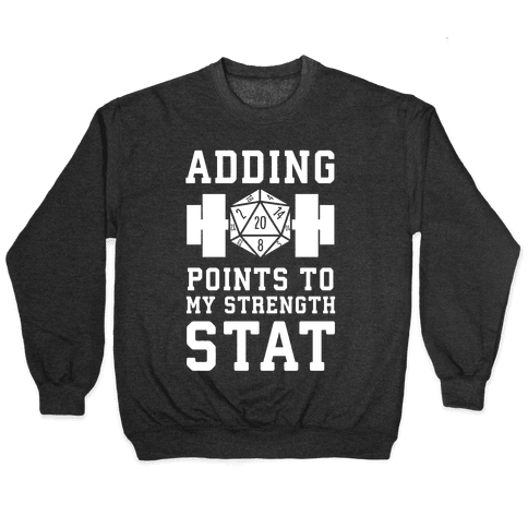 Adding Points to My Strength Stat Pullover