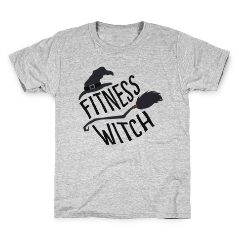 Fitness Witch Kids T-Shirt