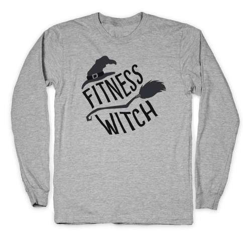 Fitness Witch Long Sleeve T-Shirt
