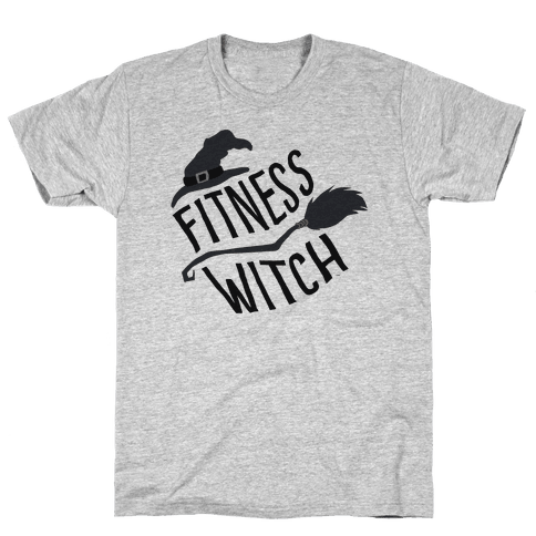 Fitness Witch Mens T-Shirt