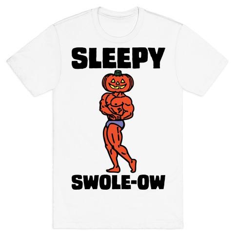 Sleep Swole-ow Parody Mens/Unisex T-Shirt