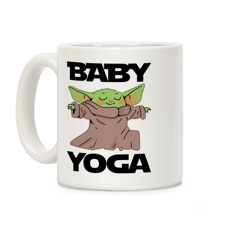 Baby Yoga Coffee Mug