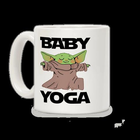 Baby Yoga Coffee Mug