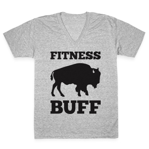Fitness Buff V-Neck Tee Shirt