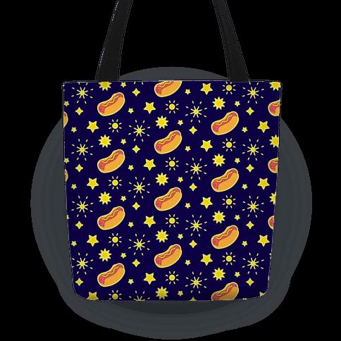 Star Spangled Weenies Tote