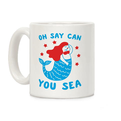 Oh Say Can You Sea Coffee Mug