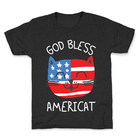God Bless Americat Kids T-Shirt