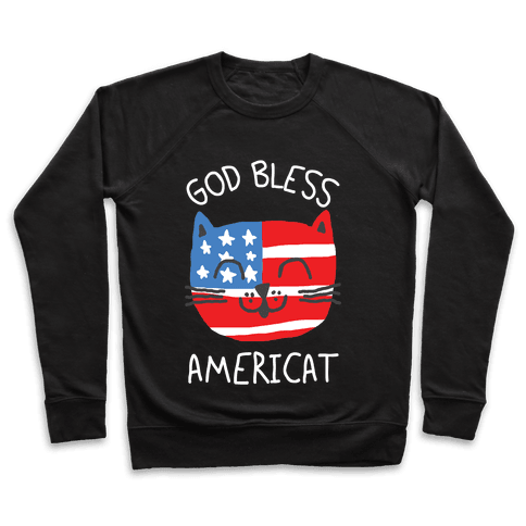 God Bless Americat Pullover